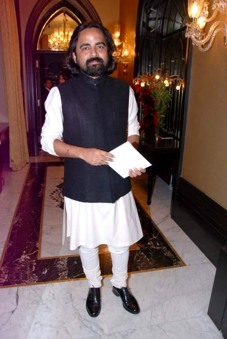 Sabyasachi Mukherjee during the launch of Zoya Banaras collection by Taj Khazana