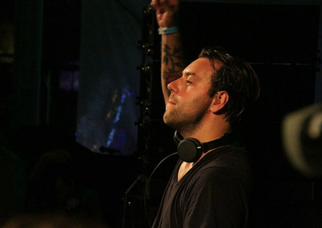 Sebastian Ingrosso during a performance in August 2013