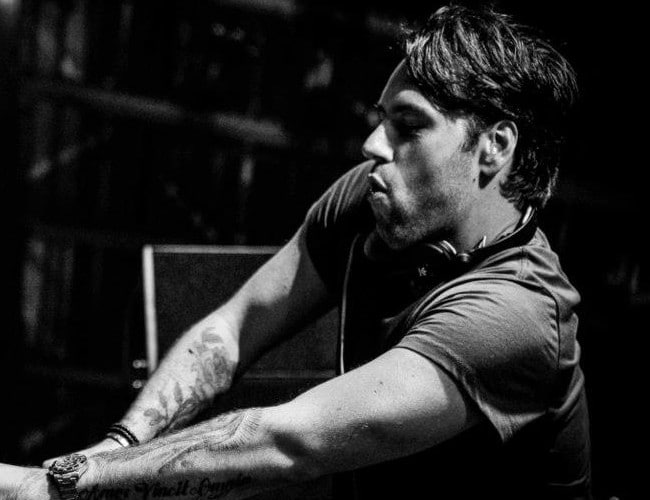 Sebastian Ingrosso playing live at Ushuaia Ibiza in April 2013