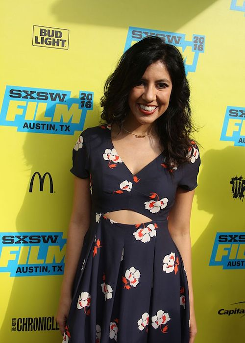 Stephanie Beatriz during the premiere of Pee Wee's Big Holiday at SXSW 2016