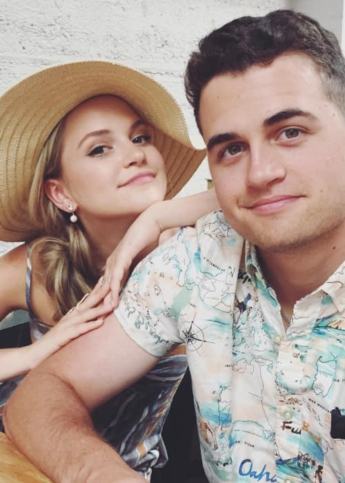Stephanie Styles and John Henry Styles in a selfie in June 2018
