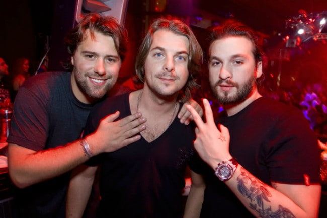 Swedish House Mafia at Pacha Ibiza as seen in December 2011