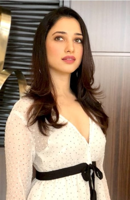 Tamannaah during an event in July 2018