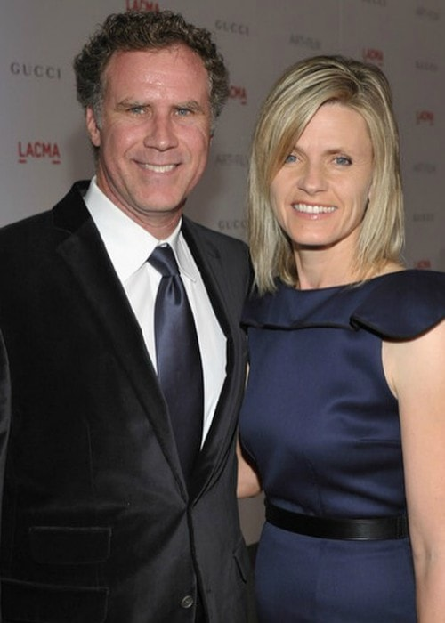 Viveca Paulin and Will Ferrell as seen in August 2016