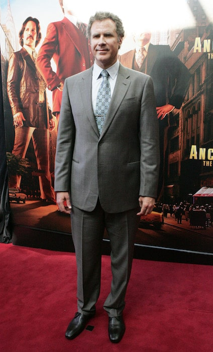 "Will Ferrell at the Australian premiere of ""Anchorman 2: The Legend Continues"" in 2013"