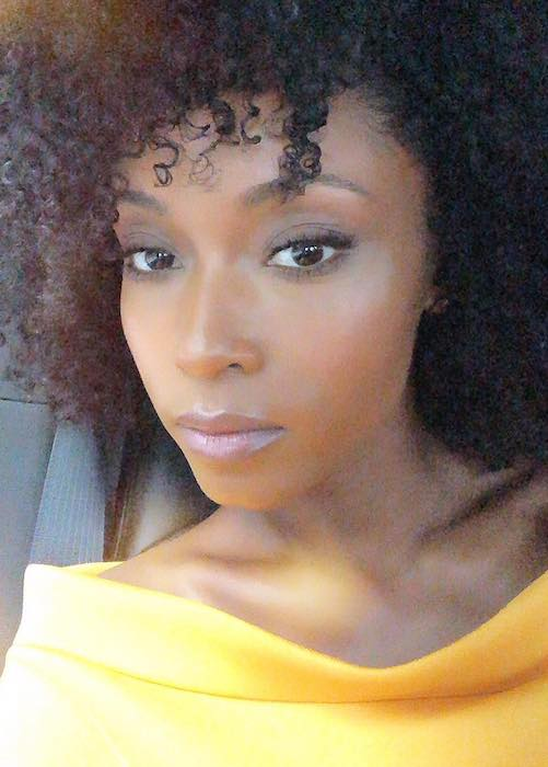 Yaya DaCosta in an Instagram selfie in September 2018