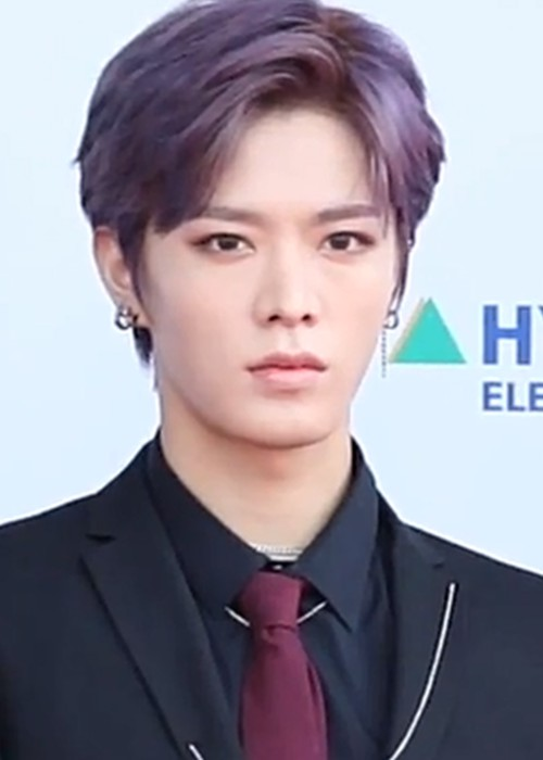 Yuta during an interview on the red carpet of the 24th Dream Concert in May 2018