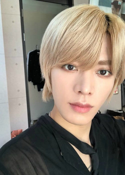 Yuta in a selfie as seen in August 2018