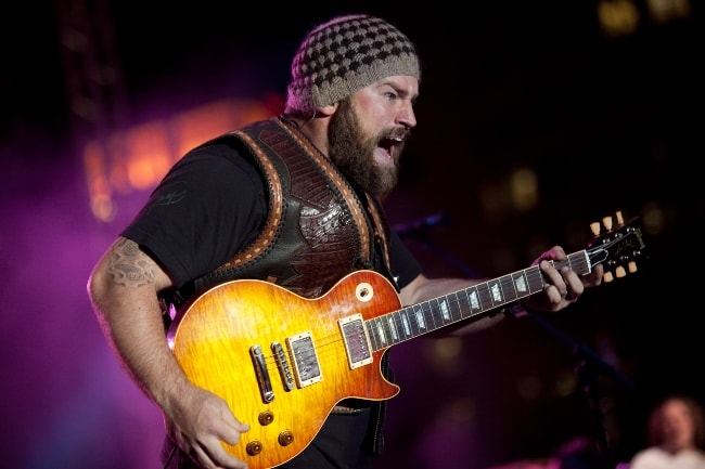 Zac Brown as seen while performing in May 2010