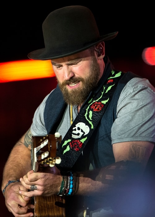 Zac Brown playing guitar at The Concert for Valor in Washington, D.C. in November 2014