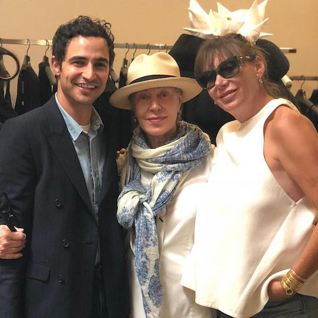 Zac Posen at LILY et Cie in September 2018