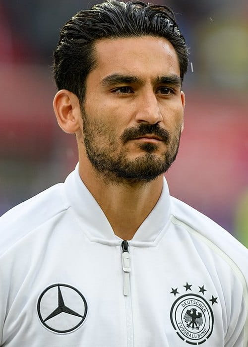 İlkay Gündoğan during a friendly match in June 2018