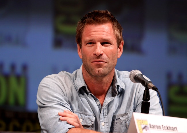 Aaron Eckhart at the 2010 San Diego Comic-Con