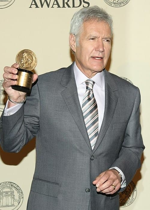 Alex Trebek as seen in May 2012