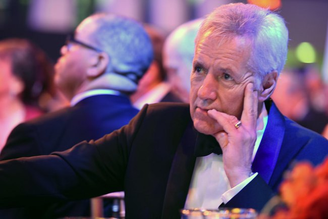 Alex Trebek at the 2016 USO Gala
