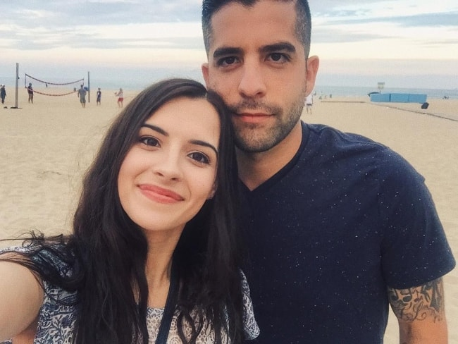 Alyssa Shouse in a selfie with Charles Longoria in June 2017