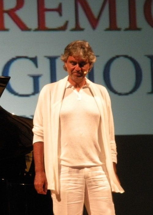 Andrea Bocelli as seen in August 2009