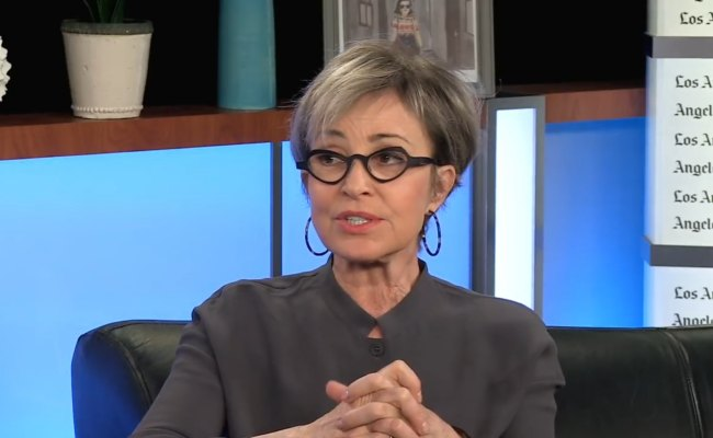 Annie Potts during an interview in April 2018