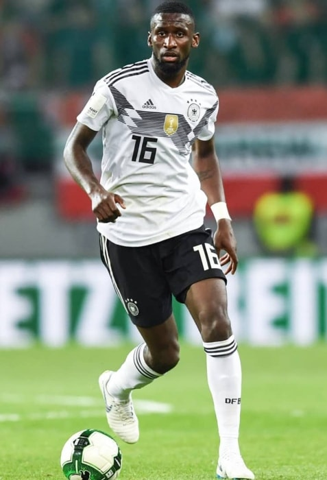 Antonio Rüdiger at Wörthersee Stadium Klagenfurt