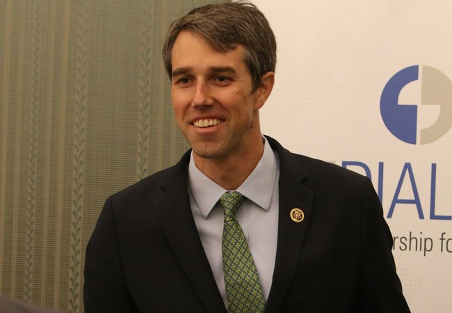 Beto O'Rourke at the 2016 President's Leadership Council
