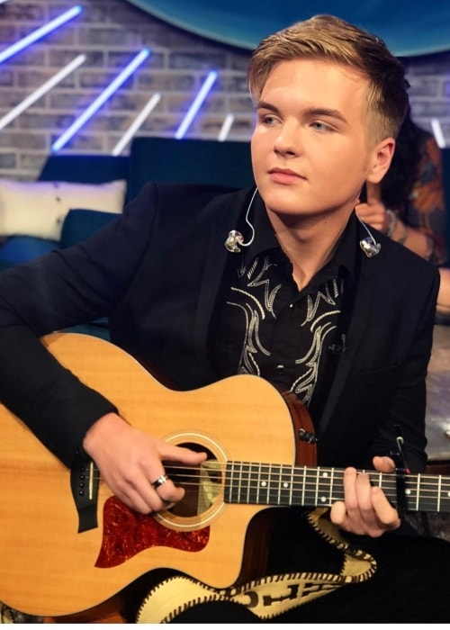 Caleb Lee Hutchinson as seen in May 2018