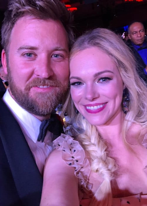 Charles Kelley and Cassie McConnell in a selfie in January 2018