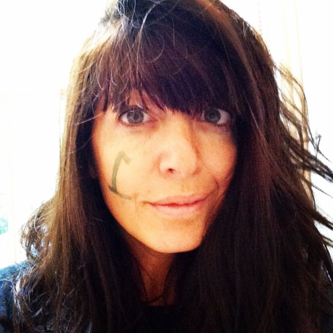 Claudia Winkleman in a selfie in September 2015