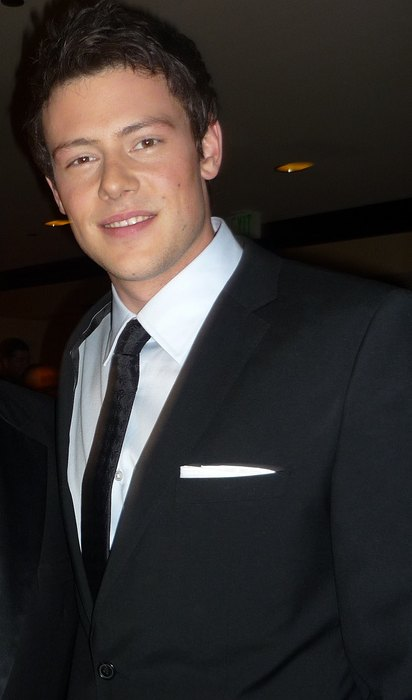 Cory Monteith at 2010 GLAAD Media Awards