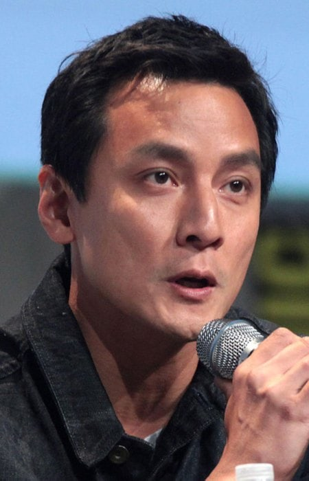 Daniel Wu at the 2015 San Diego Comic Con International