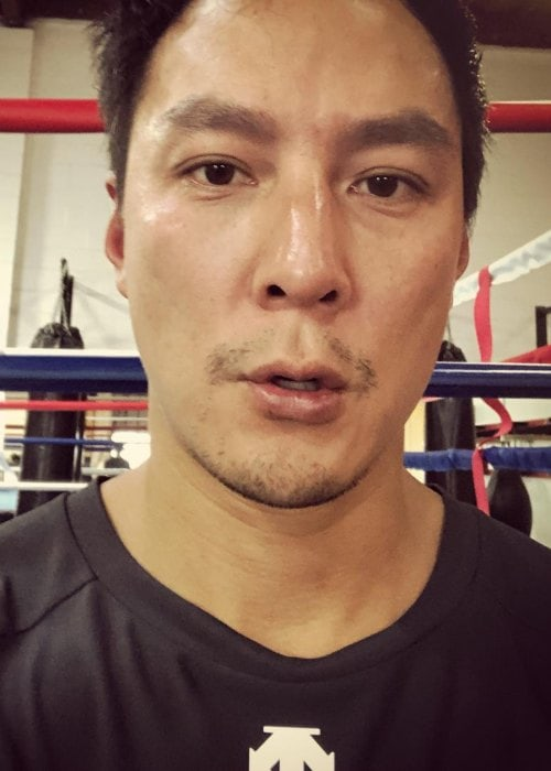 Daniel Wu in an Instagram selfie as seen in October 2018