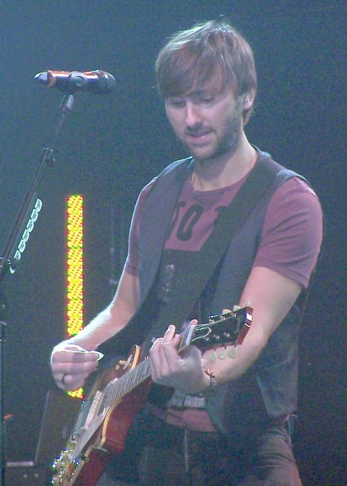 Dave Haywood as seen while performing in September 2010