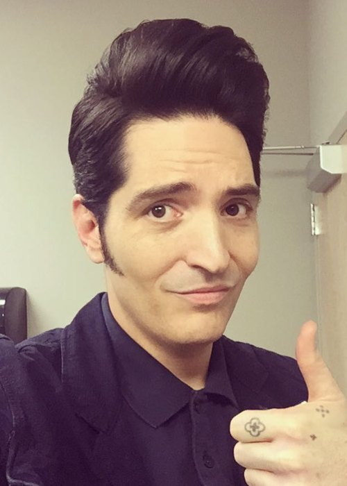 David Dastmalchian in an Instagram selfie as seen in June 2018