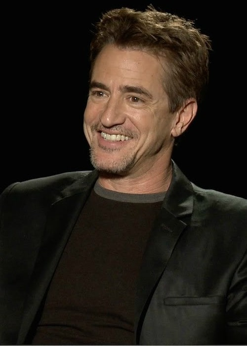 Dermot Mulroney during an interview as seen in June 2015