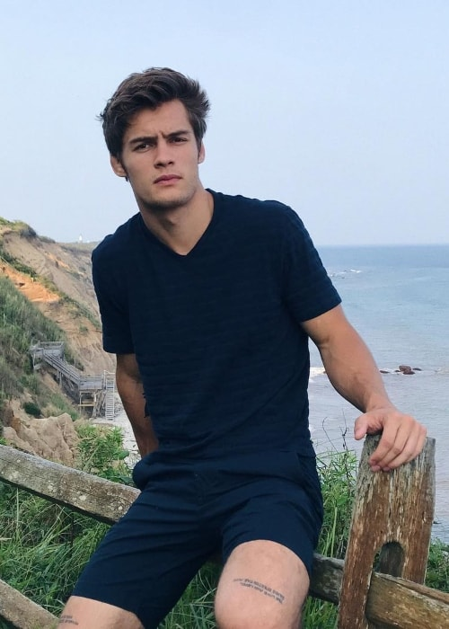 Dylan Geick at Montauk Lighthouse in August 2018