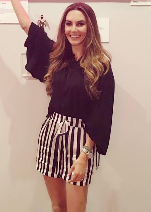 Elizabeth Chambers as seen in September 2017