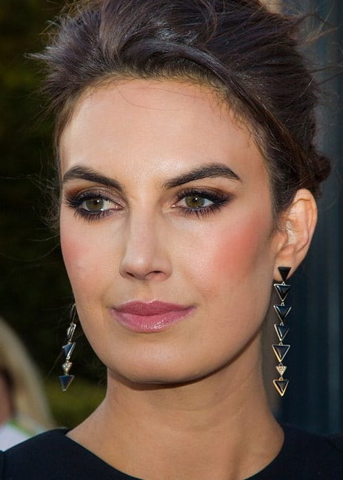 Elizabeth Chambers at The Lone Ranger premiere at Disneyland in June 2013