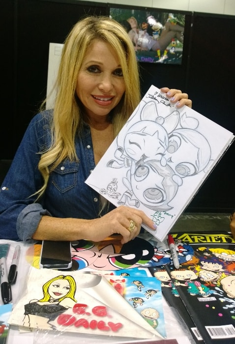 Elizabeth Daily at Los Angeles Comic-Con in November 2013