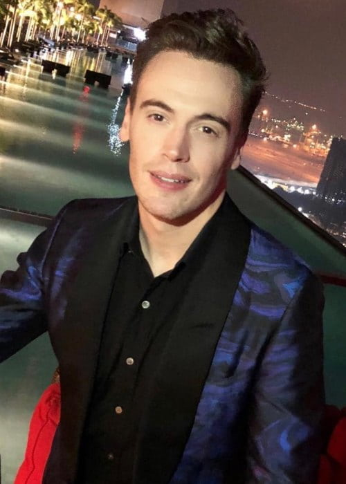 Erich Bergen as seen in August 2018