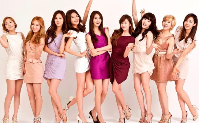 Girls' Generation modelling for LG Cinema 3D TV in January 2012