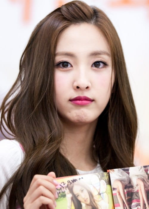 Haeryung at a fan signing event in August 2014