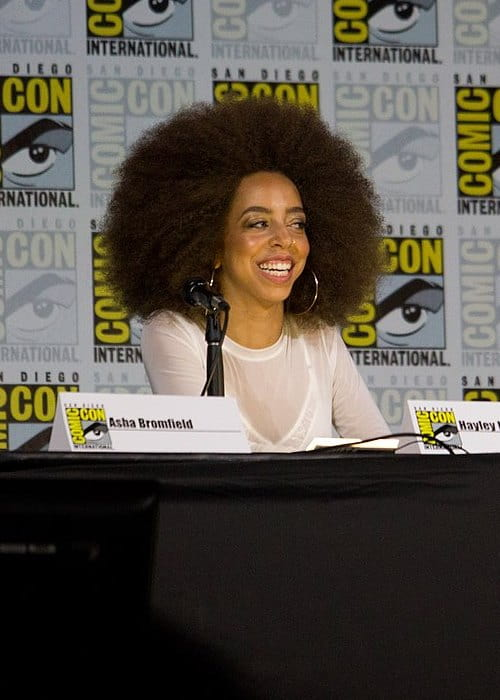Hayley Law at the 2017 San Diego Comic Con International