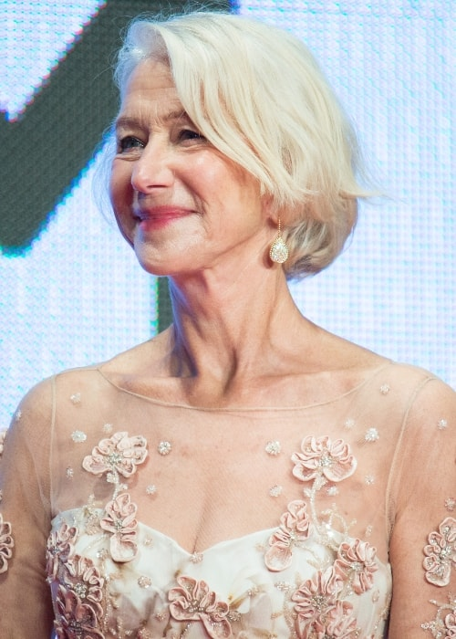 Helen Mirren as seen at the Opening Ceremony of the 28th Tokyo International Film Festival in October 2015