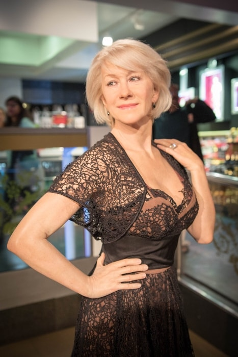 Helen Mirren as seen in May 2017