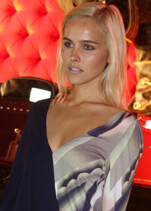Isabel Lucas at the Louis Vuitton New Sydney Store VIP Party in December 2011