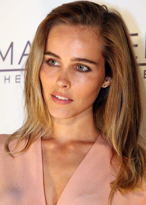 Isabel Lucas during an event in March 2012