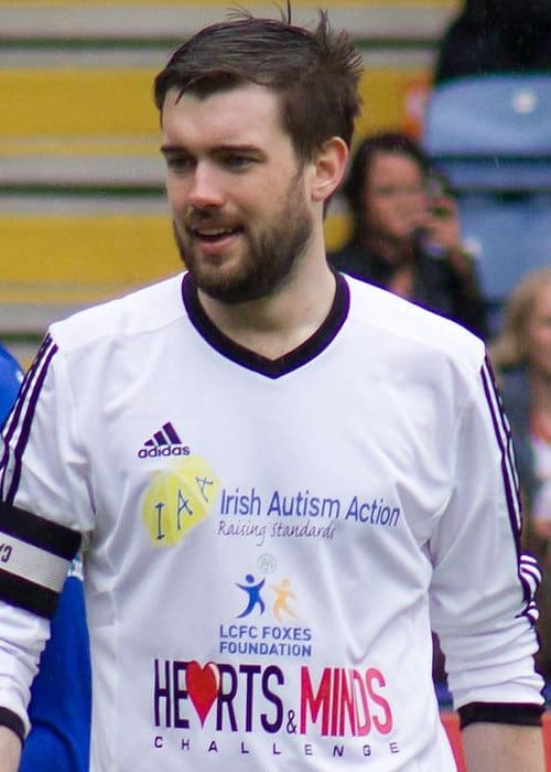 Jack Whitehall at a charity football game in May 2014