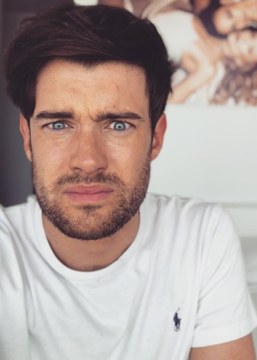 Jack Whitehall in an Instagram post as seen in September 2018