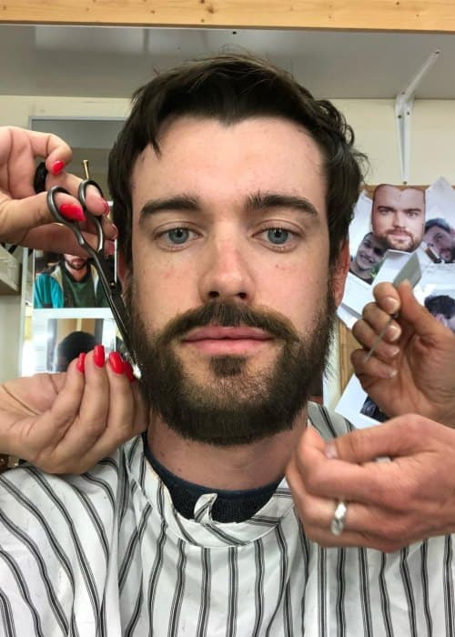 Jack Whitehall in an Instagram selfie as seen in June 2018