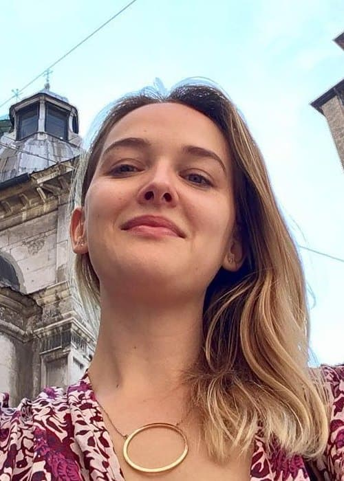 Jess Weixler in an Instagram selfie as seen in June 2017