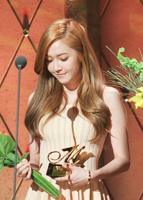 Jessica at The Musical Awards in June 2013